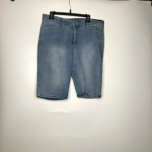 NYDJ Not Your Daughters Jeans Blue Bermuda Shorts
